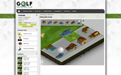 Image du jeu Virtual Golf Club - bâtiments