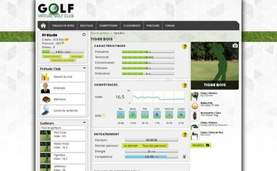 Image du jeu Virtual Golf Club - golfeur