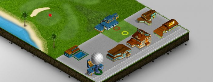 Carte du Golf : Golf Club Cestas