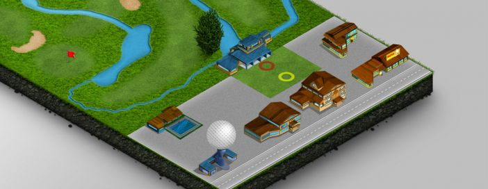 Carte du Golf : Vercors Golf